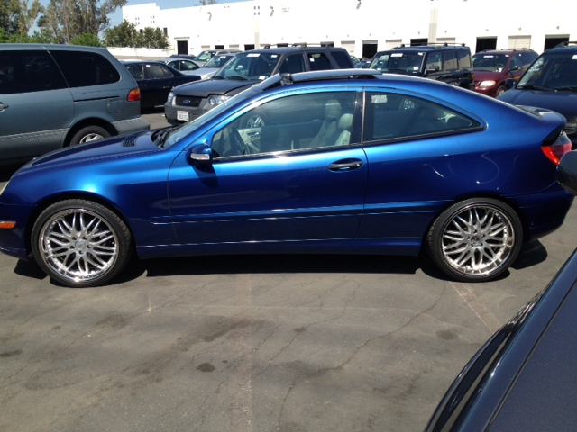 2002 mercedes benz c230 sport coupe 2d kompressor maztak for Mercedes benz 2002 c230