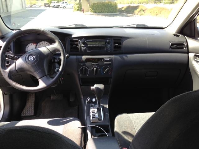 2003 Toyota Corolla 4 Cyl Sedan 4d S 171 Maztak Auto Sales